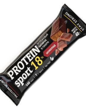 Мюсли прессованные. Батончик Protein SPORT Effort шоколад