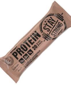 Батончик неглазированный Effort protein BAR соленая карамель/брауни