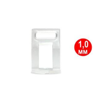 Мини Клипса (основа) 1,0 мм (250 шт/упак)